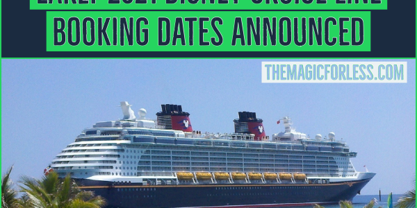 Disney Cruise Line Announces Early 2021 Itineraries
