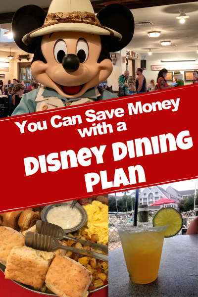 You Can Absolutely Save Money With a Disney Dining Plan