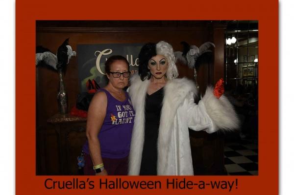 Cruella's Halloween Hide-a-way!