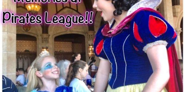 Make Magical Memories at Pirates League!