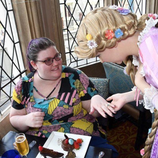 Showing Rapunzel