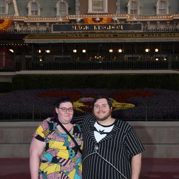 The Happy Couple Magic Kingdom