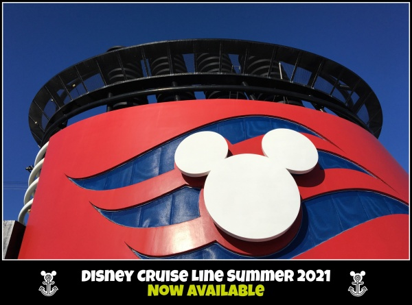Disney Cruise Line Summer 2021 Sailings are Now Available