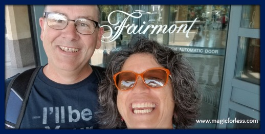 Pre-Cruise stay at the Fairmont in the Vancouver Airport!
