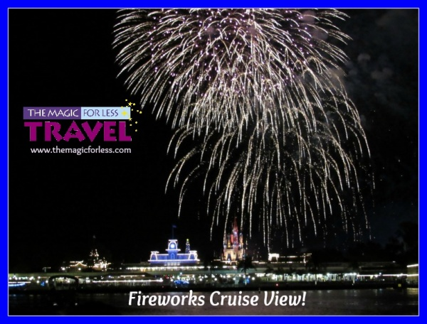 Fireworks Cruise View