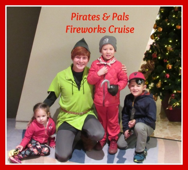 Pirates & Pals Fireworks Cruise!