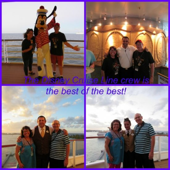 The crew is Disney Cruise Lines best feature!
