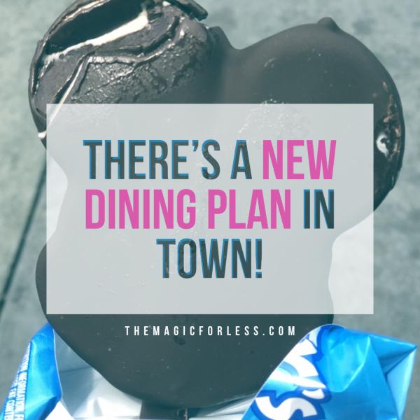 Walt Disney World Resort Introduces New Dining Plan