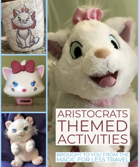 Aristocats Themed Activities for your Day at Home