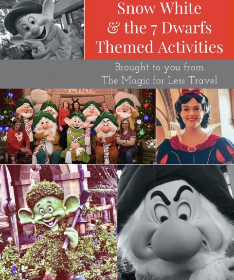 Snow White & The 7 Dwarfs Themed Activities for Your Day at Home