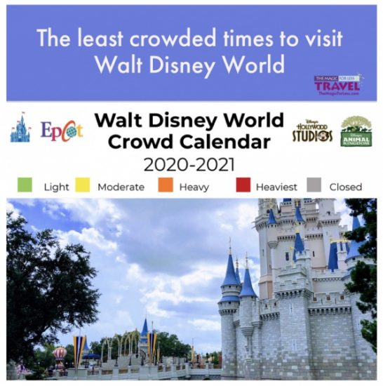 least Crowded Time to Visit Walt Disney World