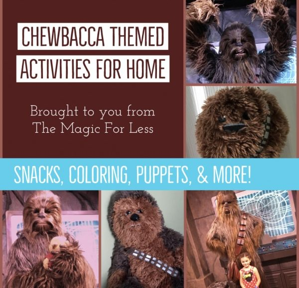 Chewbacca Themed Activities for Your Day at Home