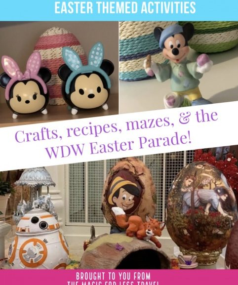 Disney Easter Themed Activities for Your Day at Home