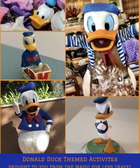 Donald Duck Themed Activities for Your Day at Home