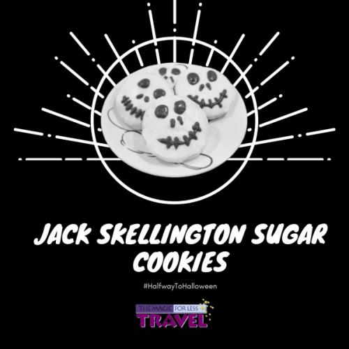 Jack Skellington Sugar Cookies