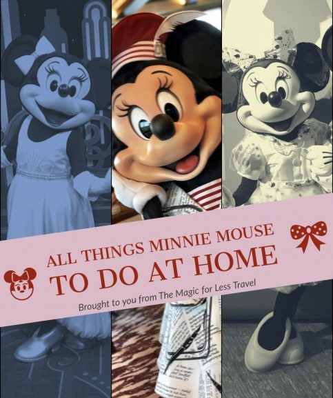 Minnie Mouse Themed Activities for Your Day at Home