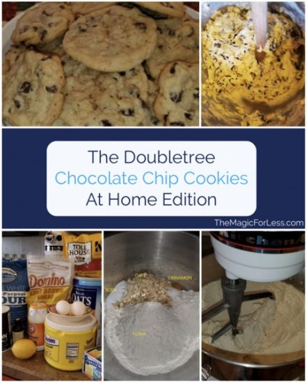 Travel Related Cooking Doubletree Hotel Chocolate Chip Cookies