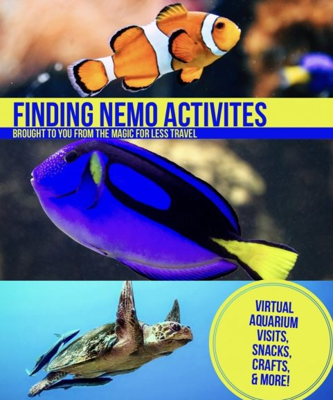 Finding Nemo Themed Activities for Your Day at Home