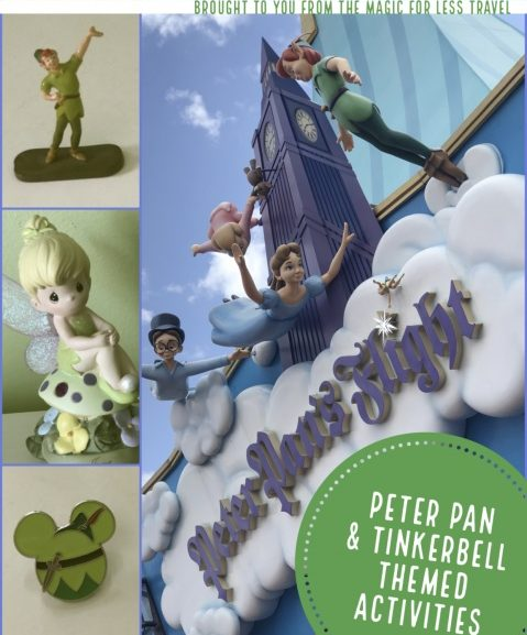 Peter Pan & Tinkerbell Themed Activities for Your Day at Home