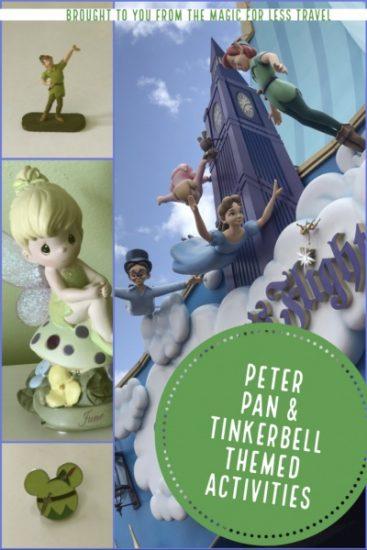 Peter Pan & Tinkerbell Themed Activities