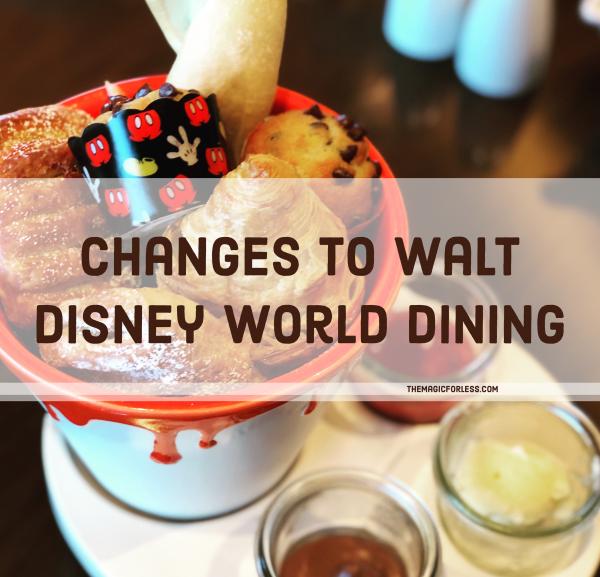 Changes to Walt Disney World Dining