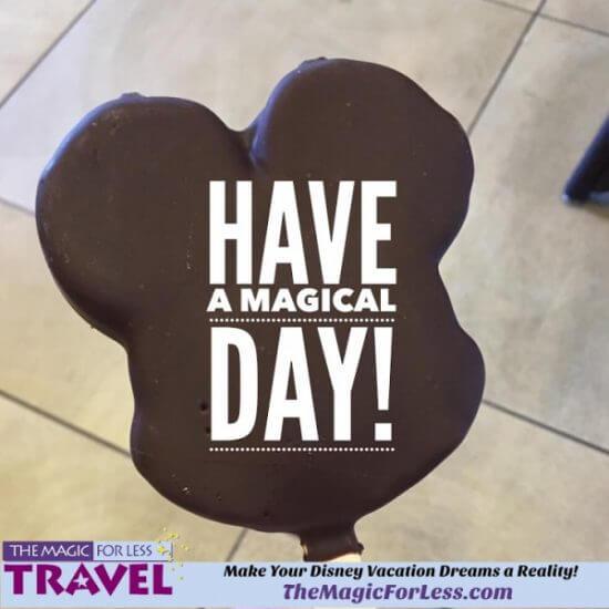 Mickey Bar Magical Day