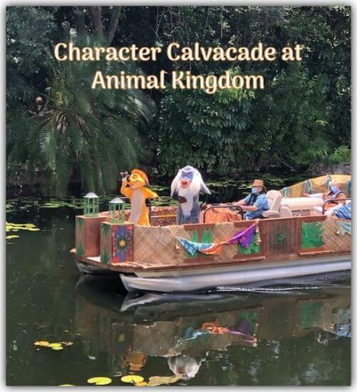 Character Calvacade Animal Kingdom