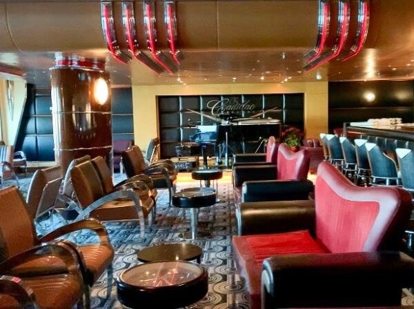 Cadillac Lounge on the Disney Wonder