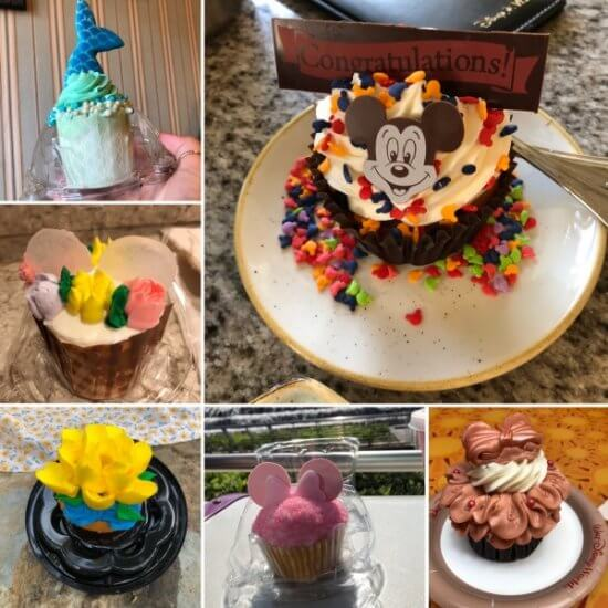 Cupcakes can be found all over Walt Disney World