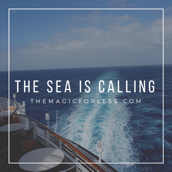 The Sea Is Calling Disney Cruise Line The Magic For Less Travel