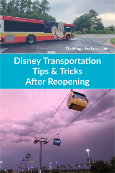 Disney Transportation Tips and Tricks After Reopening
