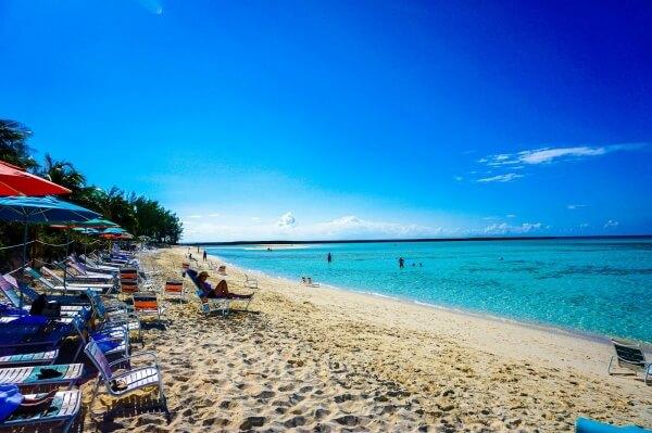 The beautiful & peaceful beach of Serenity Bay on Disney's Castaway Cay