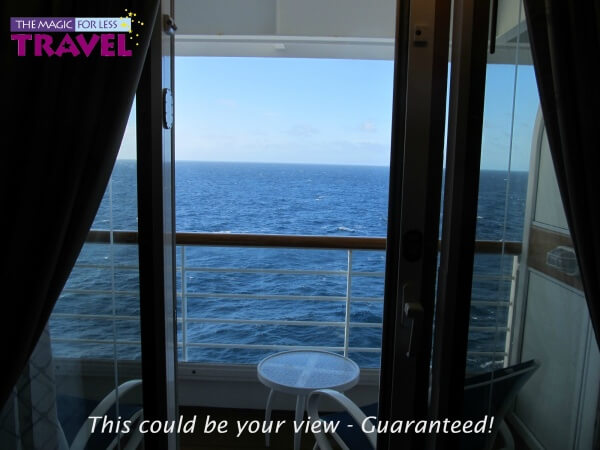 This could be your view with a VGT Stateroom!