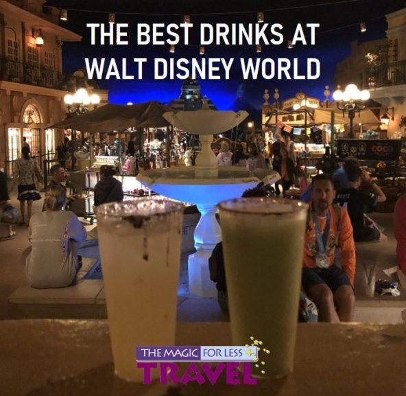 The Best Drinks at Walt Disney World
