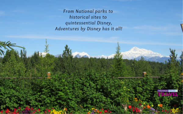 Alaska ~ The Last Frontier! Another domestic Adventure by Disney itinerary!