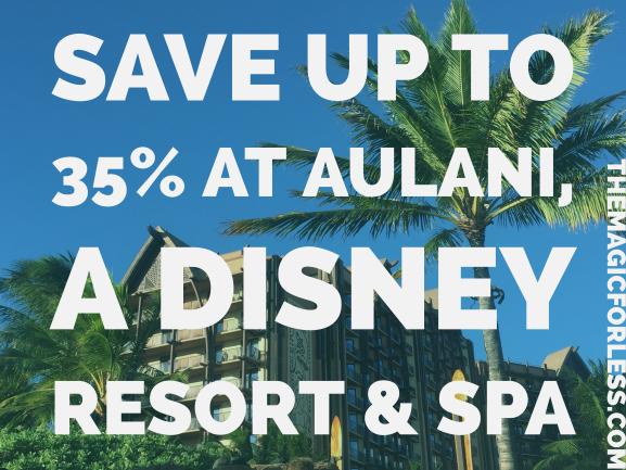 Save Up To 35% at Aulani, A Disney Resort & Spa