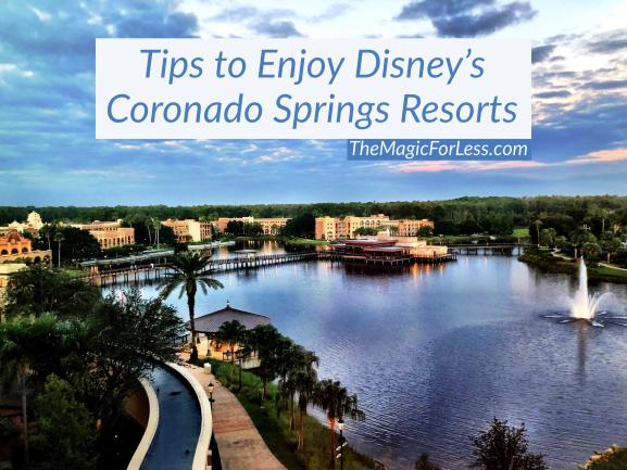 Tips for Disney's Coronado Springs Resort