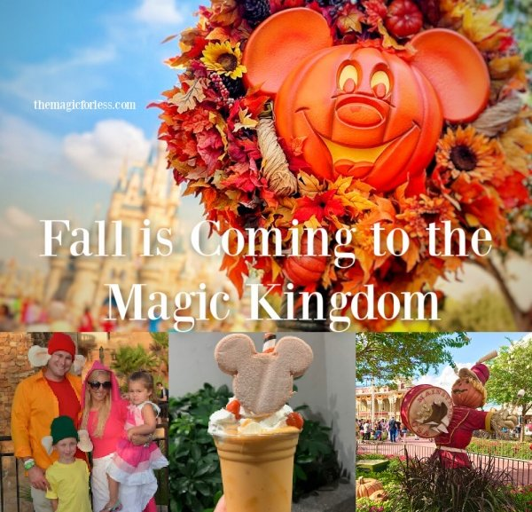 Celebrate Fall at the Magic Kingdom
