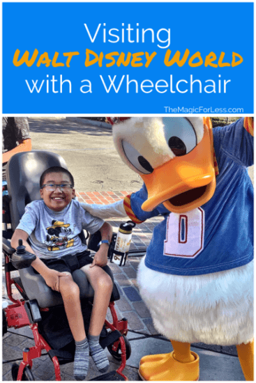 Walt Disney World with a Wheelchair