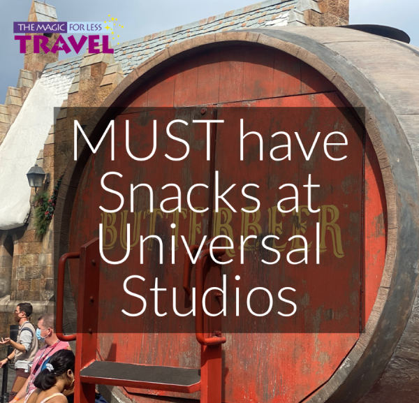 Must Have Snacks at Universal Studios