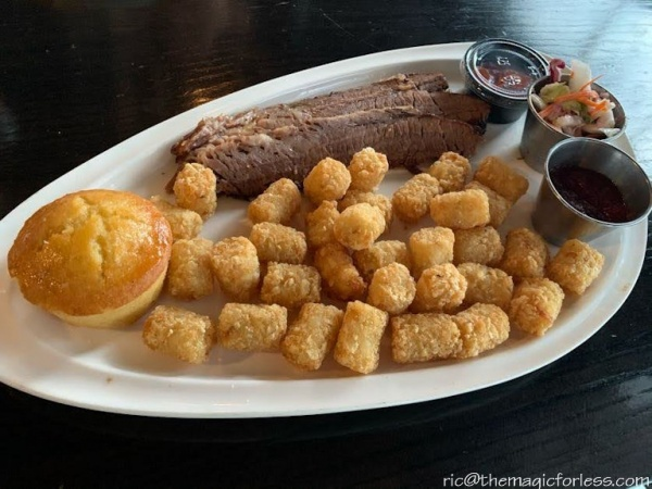Brisket at NBC Sports Grill and Brew