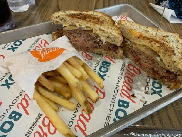 Reuben Sandwich from Breadbox