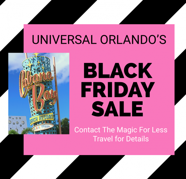 Book This Black Friday Special for Universal Orlando