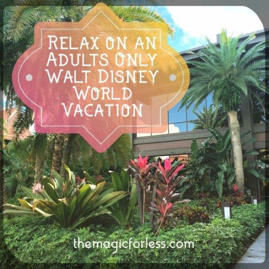 adults only walt disney world