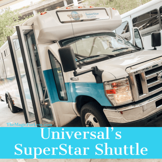booking Universal's Superstar shuttle