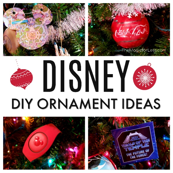 Disney DIY Ornament