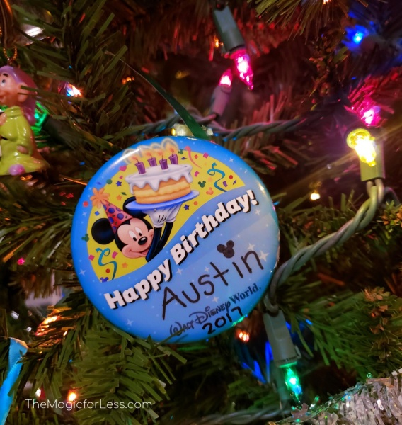 Disney DIY Ornament Button