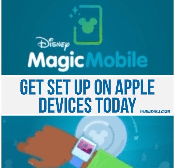 Apple Device Users Can Now Use Disney MagicMobile