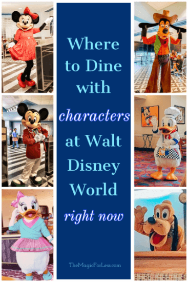 Character Dining Options