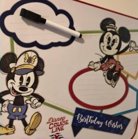 Make your Disney Cruise More Magical with an In-Room Birthday Celebration!